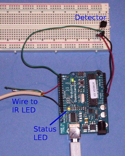 IR detector circuit