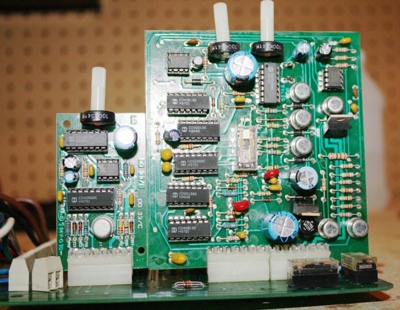 Gate controller circuit boards